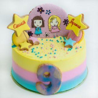 торт подружки