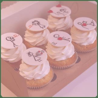 Капкейки на годовщину